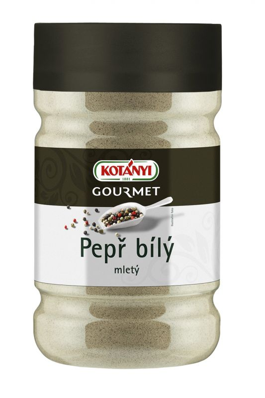 Pepř bílý mletý Kotányi